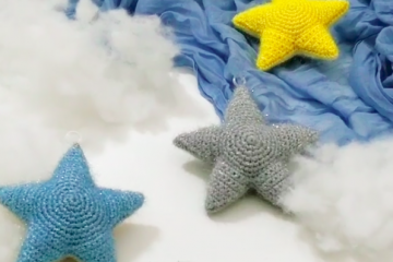 Звезда на елку своими руками (схема + видео)