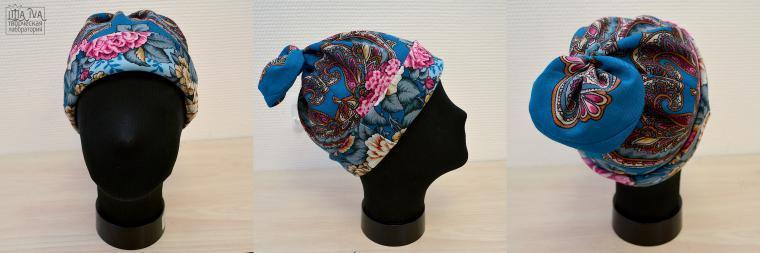 Современная шапка в русском стиле